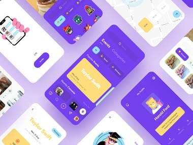 Mobile app Design with backend