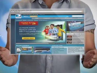Video animado portal Web DIRECTV
