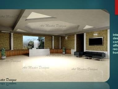 Interior design using 3Ds Max