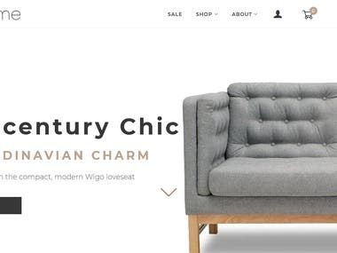 Shopify Store for Luxurious Home Decore