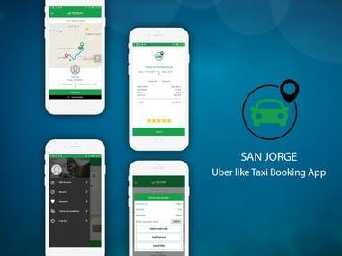 San Jorje Uber Like Taxi App