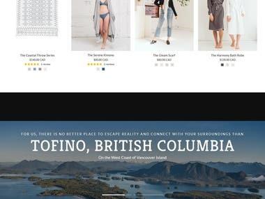 Shopify Website - Home Essentials