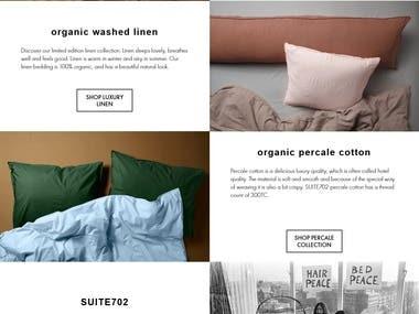 Custom Designed Shopify Website Design and Development