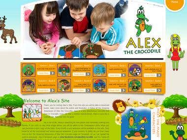 Child Store and Kids Books Website Portal.