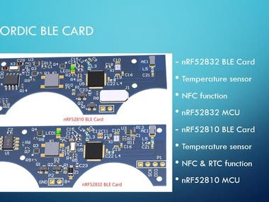 BLE & NFC & RFID device