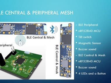 BLE Central & Peripheral & Mesh