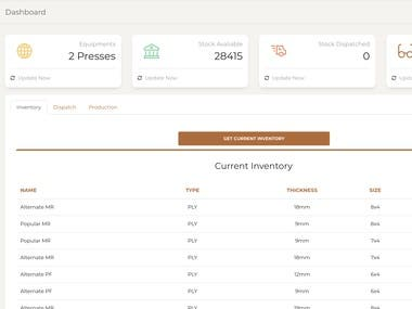 Construction Material Management ( Restful, NoSQL, PHP )