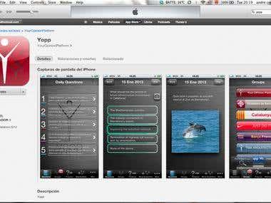 Design for an IOS app.