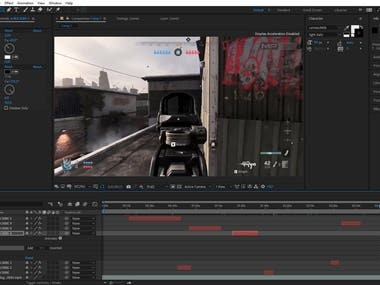 Video Editing [Adobe After Effects]