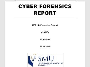 Computer Forensics Report
