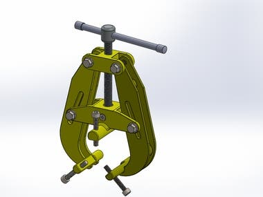 DESIGNS CARRIED OUT USING SOLIDWORK