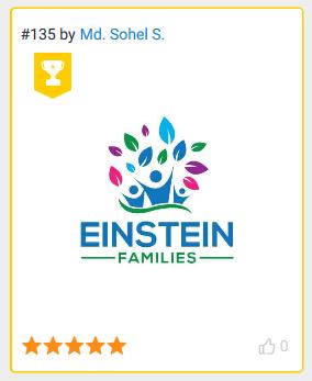 EINSTEIN FAMILIES (Awarded Logo)