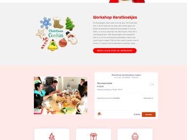 Christmas cookies workshop