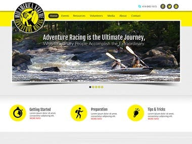 Adventure racing website