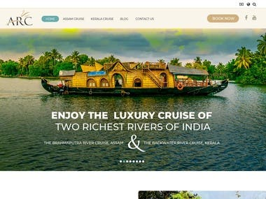 Cruise tour booking website
