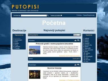 Putopisi - Tourist review site