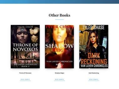 An Author Website