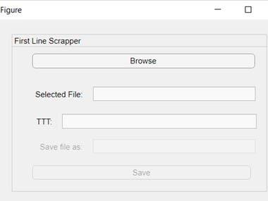 GUI for XML Handling (Matlab)