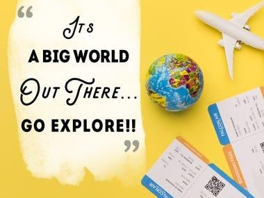 Nayyar Air Travels - Social Media