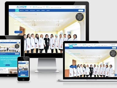 Authentic Global Medical Services Website
