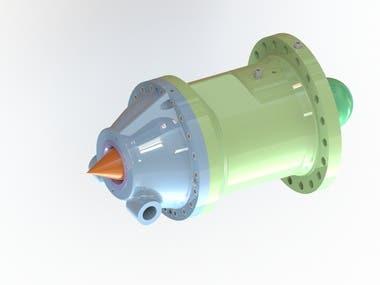Nozzle Assembly design of Pelton Turbine