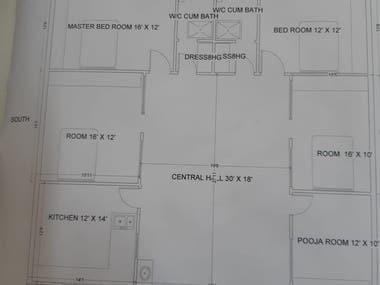 Floor Plan of Buildings