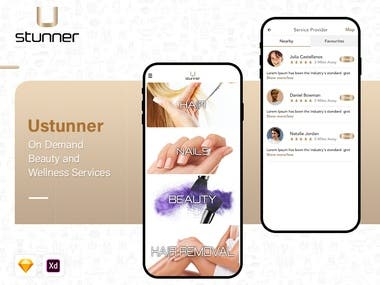 Ustunner - On Demand Beauty and Wellness Services