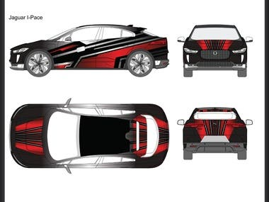 Wrap Design Jaguar I-Pace