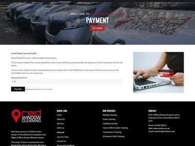 Online Service selling website