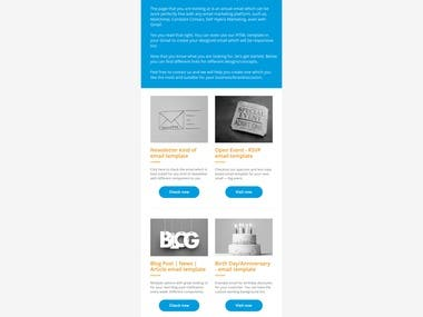 Email Template example - #1