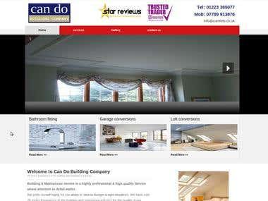 concrete5 cms based website