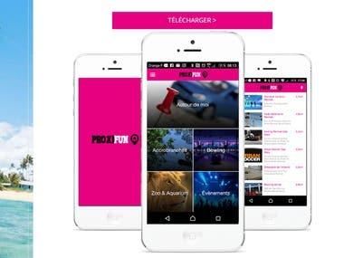 E-Commerce & Hotel & Travel Service Apps