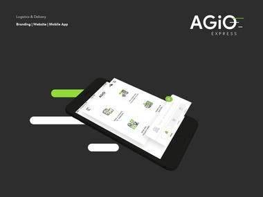 Agio Express Delivery - Mobile App & Web