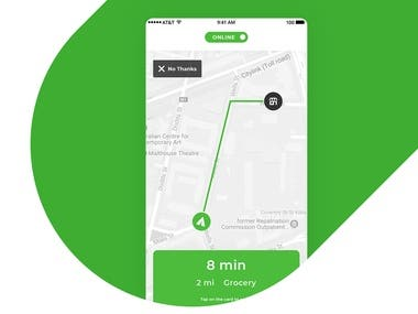 (Live) Chainshopper - Mobile App for Drivers