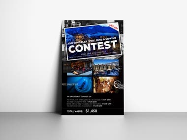 Contest Flyer design