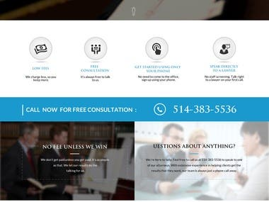 Legal Web Design