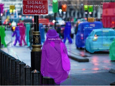 Object detection and segmentation