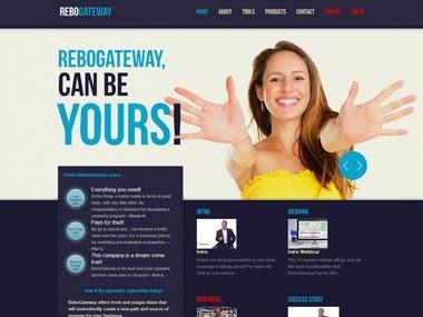 ReboGateway Real Estate website