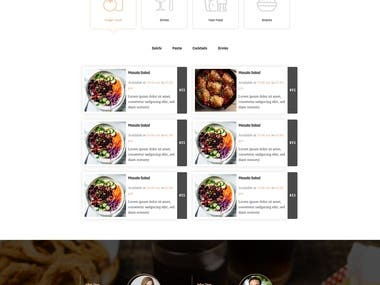 One Page Restaurant