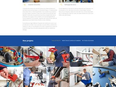 6 Pages Construction Website