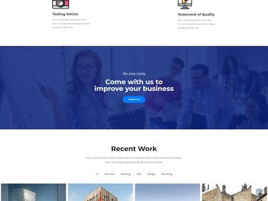 3 Pages Business Website