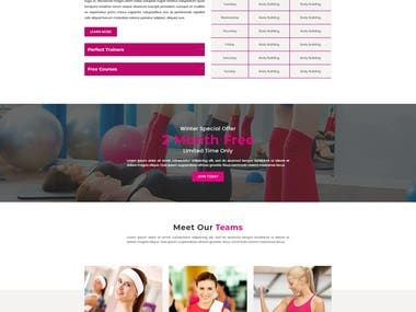 3 Pages YOGA Service