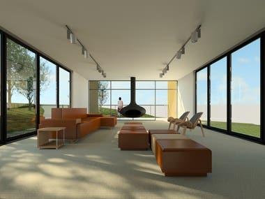 Interior design and rendering
