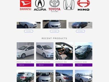 Automobiles Ecommerce Website