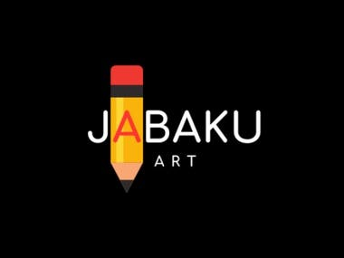 """JABAKU ART"" Logo Design"
