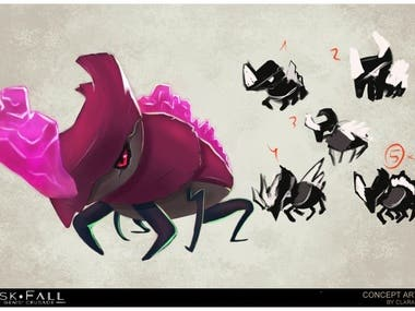 Concept Art - Creature Character Design