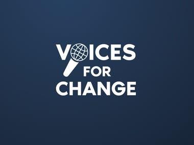 Voices4Change Logo