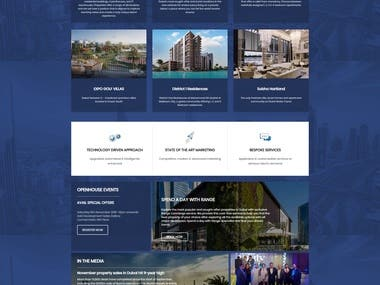 Real Estate Website in Dubai