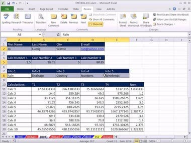 Data Typing In Excel
