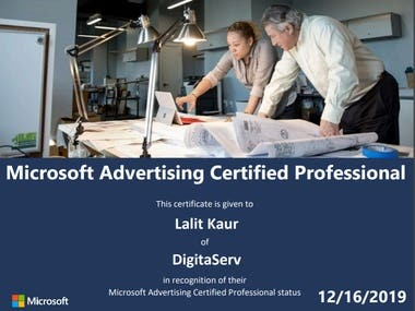 Microsoft (Bing) Ads Certification
